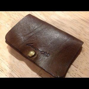 Vintage soft  leather LEVIS key holder